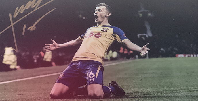James Ward-Prowse signed photograph