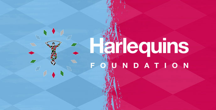 Harlequins Foundation T- Shirt (available for collection at Club shop only)