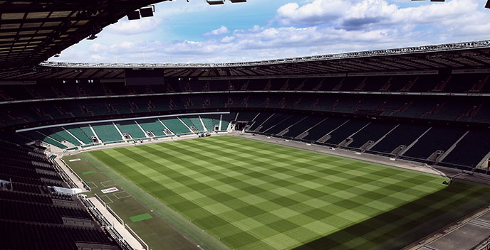TWICKENHAM STADIUM AND RUGBY MUSEUM TOUR FOR TWO